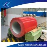 A cor de PPGI revestida Prepainted a bobina de aço galvanizada