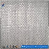 Tissu plat tissé par pp blanc pour faire le sac enorme
