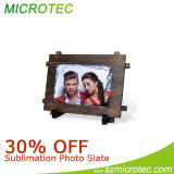 Cuore Shape Photo Slate, 14*14cm-RS45
