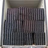 Q195 Q215 Q235 milder Kohlenstoff geschweißtes quadratisches Stahlrohr