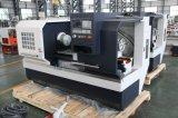 販売法のためのCak6140/6150/6166/6180平床式トレーラーCNCの旋盤機械