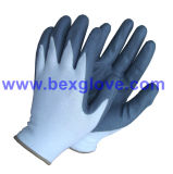 Перчатка пены нитрила, перчатка работы