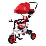 Fábrica al por mayor de 360 grados de rotación infantil Triciclo con toldo