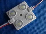 LEIDENE van de Injectie LEDs van de auto Decoratie 4 Module met Berijpte Lens
