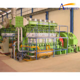 central energética de 2x1mw/415V HFO (para a planta de recicl de MSW)
