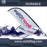 полиэфир 110g 100% изготовленный на заказ Outdooor рекламируя знамя флага пера