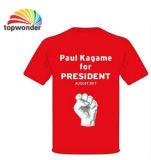 Personnaliser le T-shirt de campagne dans divers couleurs, tailles, matériaux et modèles