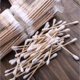 안전 처분할 수 있는 메마른 의학 나무로 되는 면 면봉 지팡이