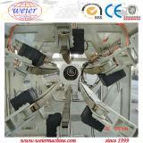 Chaîne de production d'extrusion de conduite d'eau de gaz de PE du HDPE pp avec la vitesse 20-110mm