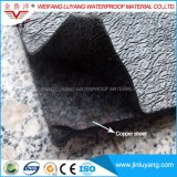 Membrana impermeável do betume da resistência da raiz com a folha de cobre para o jardim de telhado