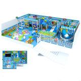 Спортивная площадка большой темы моря центра игры детей спортивной площадки торгового центра деревянной крытая