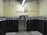 Système et cylindres divers de gaz pour le système de fourniture de gaz