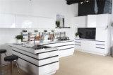 Welbom moderne lamellenförmig angeordnete Küche-Schrank-Möbel 2016