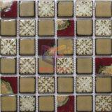Roter Ziegelstein-keramisches Dekoration-Mosaik für Küche-Spritzen (CST301)