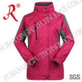 Mit Kapuze Waterproof Outdoor Jacket mit Micro Fleece (QF-648)