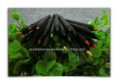 Lápiz de madera negro del color (color)