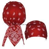 Custom Made Cotton Bandana Kerchief Haircarf ajustável Bandana Hair Wrap