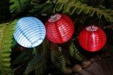 Lanterne 2016 solaire de chaîne de caractères de patriote de décoration de festival