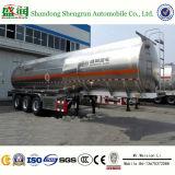 De chemische Tanker van de Brandstof van de Legering van het Aluminium van de Aanhangwagen van de Olietanker Semi