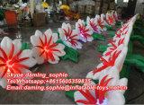Corrente de flor inflável do casamento da venda quente para a decoração do estágio