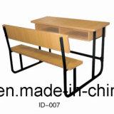 Стол и стул студентов школы горячего сбывания самомоднейшие стальные деревянные