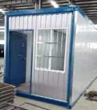 Casa plegable impermeable modular del envase del paquete plano para África