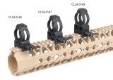 Montagem do anel de montagem do espaço do rifle para o espaço do tiro da caça