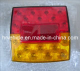 LED Square Light con Tail, Stop, Indicator, Plate Function