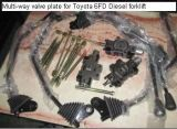 Válvula de controle hidráulica de Toyota para aumentar o núcleo de válvula, haste de válvula para o Forklift