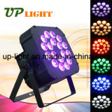 Fase New 18PCS 18W Rgbwauv 6in1 Flat LED PAR Light
