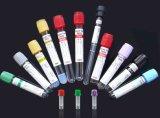 Desechables tubo de vacío de extracción de sangre con el CE ISO