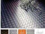 Strato di gomma antiabrasione, strato di gomma della striscia industriale, pavimentazione del reticolo della moneta
