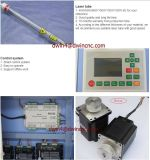 Preiswertes CNC-Gewebe/hölzerner CO2 Laser-Ausschnitt-Gravierfräsmaschine-Preis