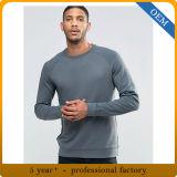 Uomini 100% delle magliette felpate di alta qualità del cotone del commercio all'ingrosso