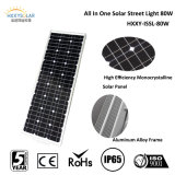 jardin de Light Street Light Integrated Solar de jardin de 80W Solar Integrated Light/Residential Light/Road Light