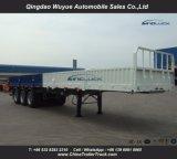 3車軸および塀の13メートルの貨物トレーラー