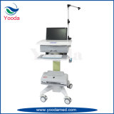 Krankenhaus und medizinische Laptop-Karre des Mobile-ECG