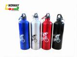 Bottiglia di acqua riutilizzabile portatile di sport della bicicletta 750ml di vendita calda