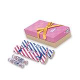 удовольствие супер влажной большой конфеты 6PCS/Lot упаковывая закрывает глаза с комплектом презерватива смазки серии