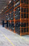 De industriële Vouwbare Opslag die van de Band van het Metaal Rek stapelen