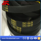 Les V-Belts de bonne qualité ont réuni les courroies crues crantées du bord V