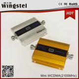 Mini 3G 2100MHz servocommande de signal de portable de l'affichage à cristaux liquides