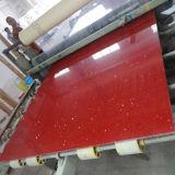 Цена камня кварца зеркала Sparkle Kkr красное проектированное Caesarstone