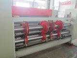 Máquina de cadena de Prirnting de 2 colores que introduce para la fabricación de cajas acanalada