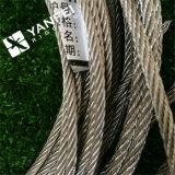 Acero inoxidable / AISI304 o 316 de la cuerda de alambre de acero de la grúa
