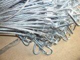Fabricante galvanizado do estilingue da corda de fio de aço 6X37+ Iwrc