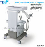 Unidad dental de moda movible con el compresor de aire (P187)