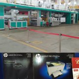 La prensa de la E-Protuberancia C.I. Flexo que imprime la máquina encendido acanala la impresora del Cartón-Flexo