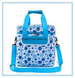 Голубой мешок охладителя высокого качества цвета