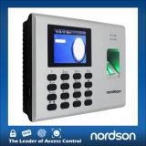 Controllo di accesso dell'impronta digitale della rete del metallo Fr-Sf200 & presenza di tempo
